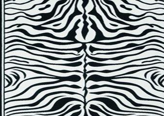 Vloerkleed Zebra print