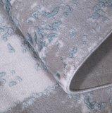 Vloerkleed Wave blauw 9416_