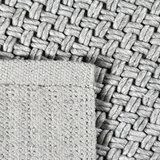 Vloerkleed gemaakt van 100% wol Brian zilver_
