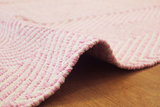 Handgemaakt katoen pink vloerkleed Retif 510_