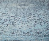 Vloerkleed Tabriz L. Blauw_