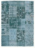 Patchwork karpet New York 486 Turquoise_