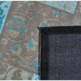 Patchwork karpet Patch Vintage Aqua_