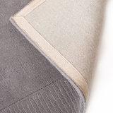 Zuiver wol vloerkleed Tosca kleur grijs_
