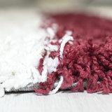Hoogpolig vloerkleed Galaxy 2505 kleur Rood_