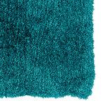 Hoogpolige vloerkleden Elite 170/024 Turquoise_