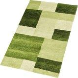 Hoogpolig tapijt Living 151/030 kleur Groen_