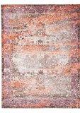 Vloerkleed Chrome kleur oranje_