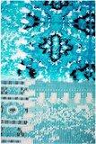 120x170cm Vloerkleed Patchplus Blauw 3830_