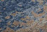 Jacquard vloerkleed Garda Multi Blauw_
