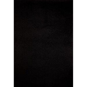 Hoogpolig vloerkleed Dorin 1074 kleur Zwart