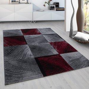 Modern vloerkleed Galant 8003 kleur Rood