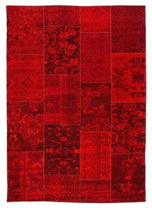 Patchwork tapijt New York 430 Rood