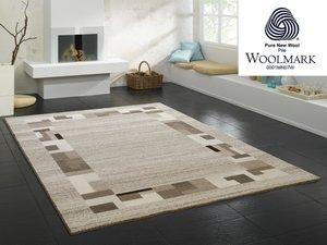 Aanbieding wollen vloerkleed Wool Plus 469 Natur