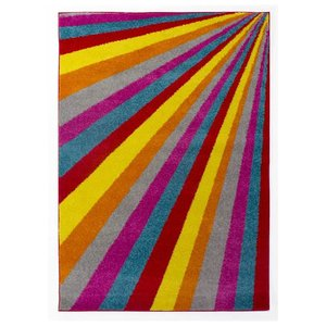Multicolor vloerkleed Borneo Spark