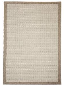 Platgeweven vloerkleed en karpet Palma Naturel