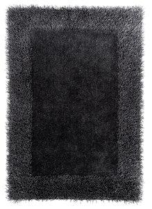 Effen vloerkleed Comfort antraciet grijs 2