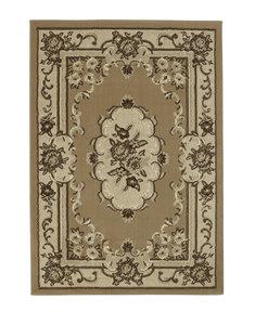 Oriental vloerkleed kleur beige