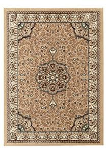 Klassiek vloerkleed Praxim kleur beige 4400
