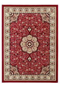 Klassieke vloerkleden Praxim kleur rood 4400
