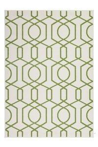 Designer vloerkleed Stellos Ecru Groen