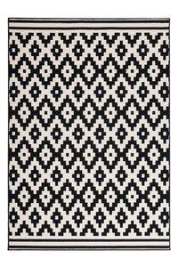 Designer vloerkleed Stellos Zwart Wit