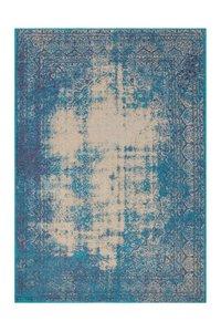 Vintage vloerkleed Romy Turquoise