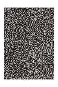 Leren vloerkleed Patch 850 kleur Bruin