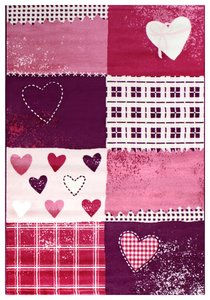 Kinder vloerkleden en tapijten 2105 Purple
