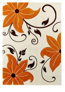 Aanbieding vloerkleed Victoria kleur beige terra OC15