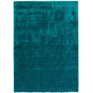 Hoogpolige vloerkleden Elite 170/024 Turquoise