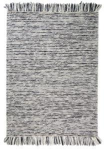Wollen vloerkleed Retail kleur grijs