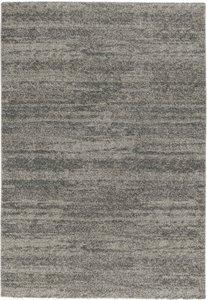 Effen vloerkleed Soraja kleur grijs 150/005