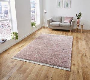 Vloerkleed Cottage 8280 kleur Roze