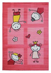 Tapijt voor kinderkamer Adi 2107 Pink