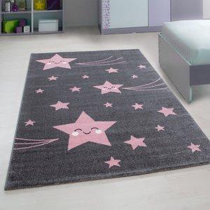 Kinderkamer tapijt Child 610/AY Pink