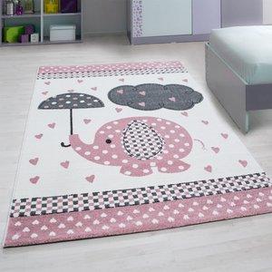 Kinderkamer tapijt Child 570/AY Pink