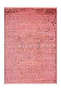Vintage vloerkleed Madras pink met 3D effect