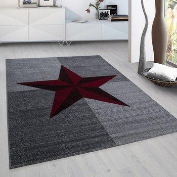 Modern vloerkleed Galant 8002 kleur Rood