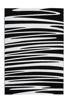 Vloerkleed Wales Zwart Wit 200