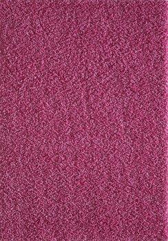 Pink hoogpolig vloerkleed of karpet Seram 1300