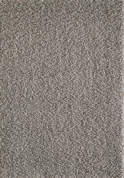 Lichtgrijs hoogpolig vloerkleed of karpet Seram 1300