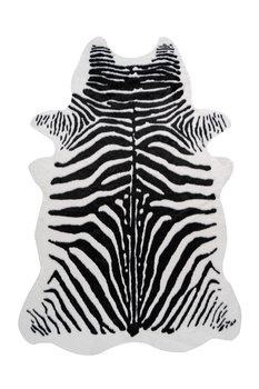 Vloerkleed Animal Imitatie Zwart Wit 225