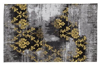Vintage vloerkleed Malaine 626 Grijs - Geel