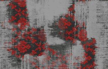 Rood vloerkleed Malaine 682 Rood