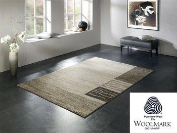 Exclusief wollen vloerkleed Wool Plus 469 Natur