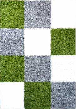 Hoogpolig karpet groen Calys 171