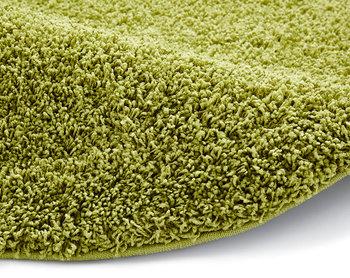 Effen vloerkleed Praxus kleur groen 2236
