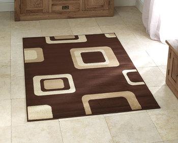 Vloerkleed Praxim kleur bruin 2751