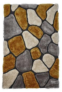 Bolcom vloerkleed kleur grijs geel NH5858